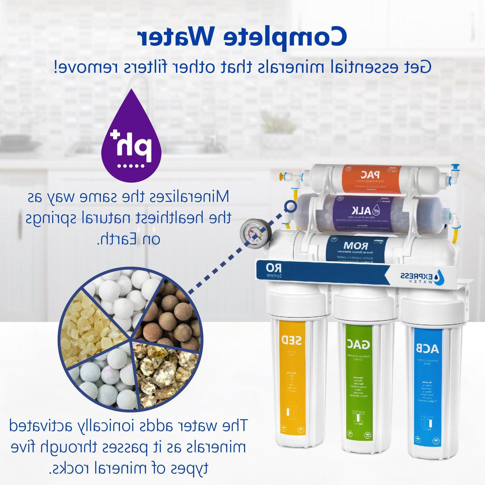 10-Stage Alkaline Filter System 100 GPD