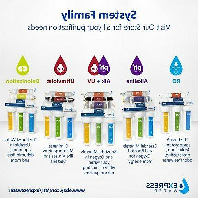 10-Stage Alkaline Mineral System 100 GPD