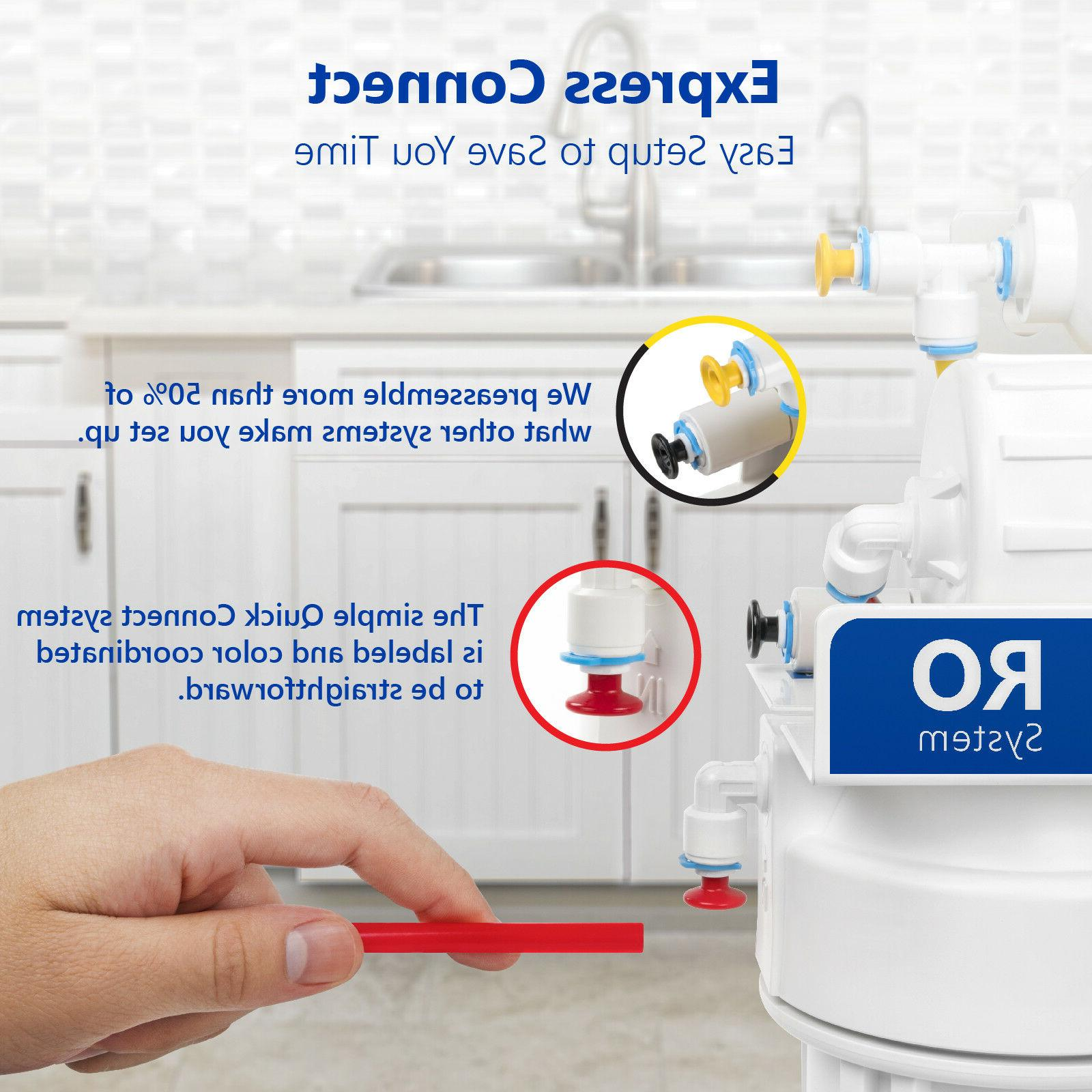 10-Stage Undersink Alkaline Filter System GPD