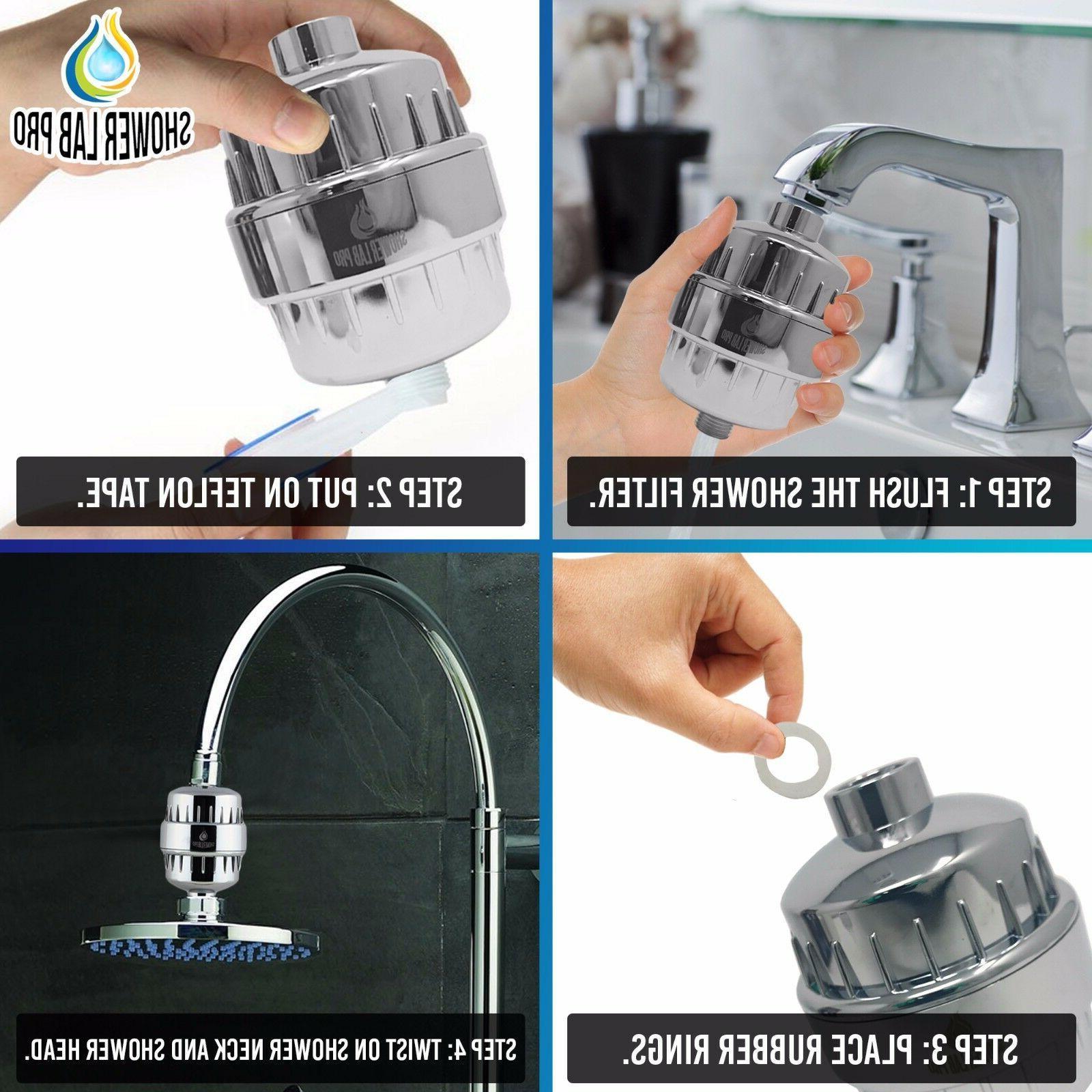 Shower Lab Pro Shower 2 Chlorine