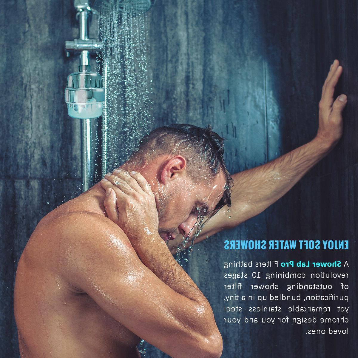Shower Pro Shower Filter with 2 Chlorine