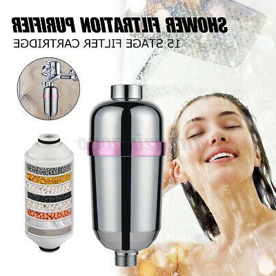 15 stage shower head filter purifier cartridge