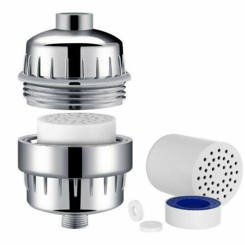15 Shower Filter Softener Handheld Shower