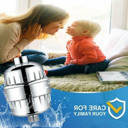 15 stage shower water filter softener filter