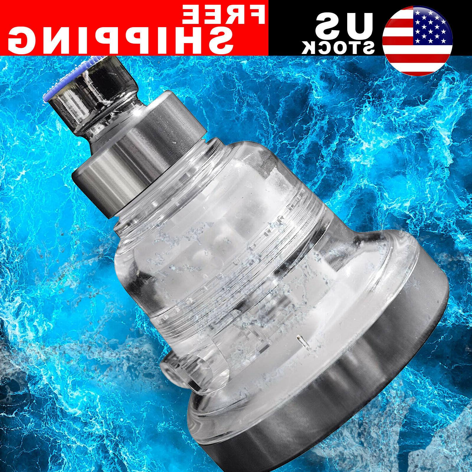 3 High Shower Head Water Softener Water