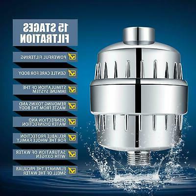 4 Shower Head Filter-15 Softener