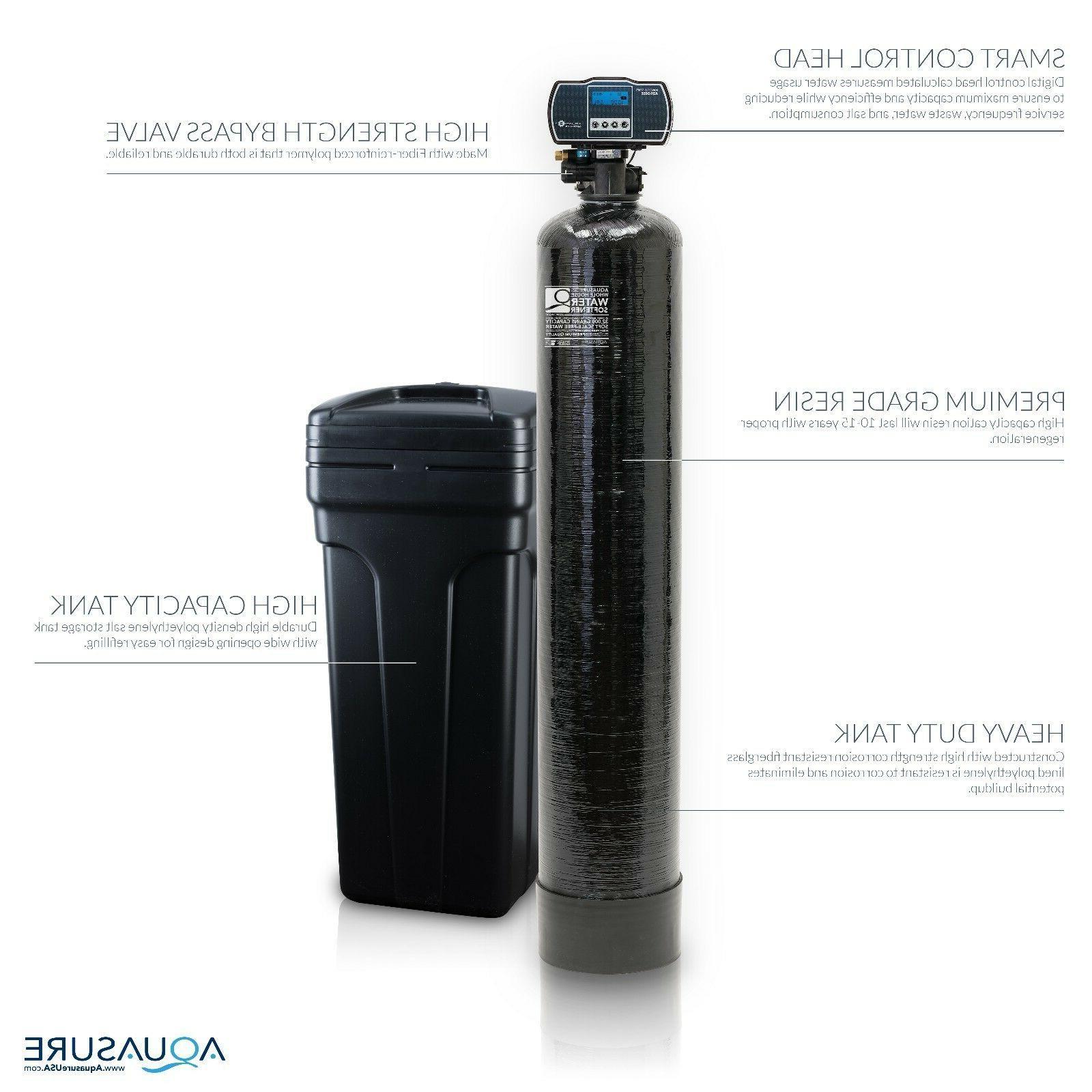 Aquasure Water Softener with Fine Mesh Iron