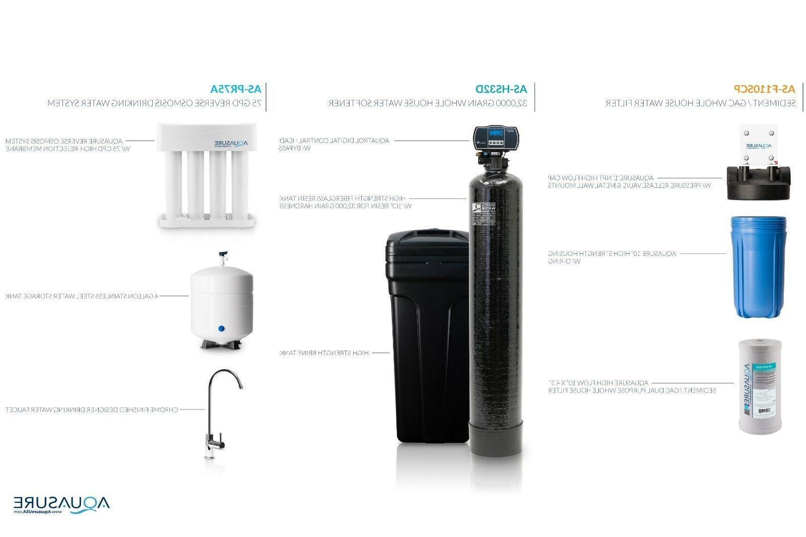 Aquasure Water Softener 75 Osmosis Whole Filter