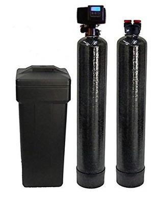 5600sxt fleck softener and carbon filter black