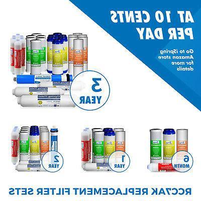 iSpring 6-Stage Reverse Osmosis RO Water Alkaline # RCC7AK