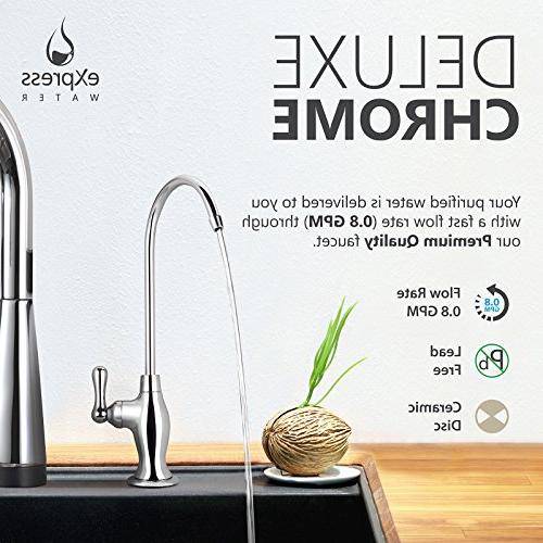 Express Osmosis Water System – DI with Faucet Distilled Pure Sink Water – GPD