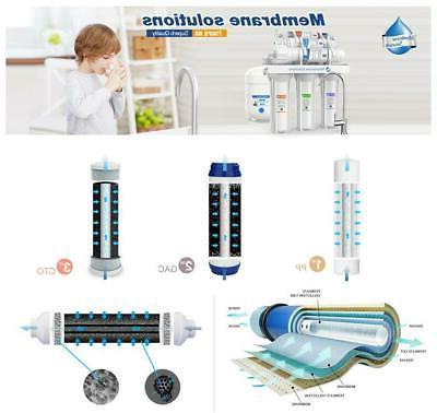 Under pH+Reverse Osmosis
