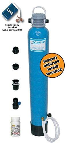 Park Model Portable RV Water Softener & Conditioner
