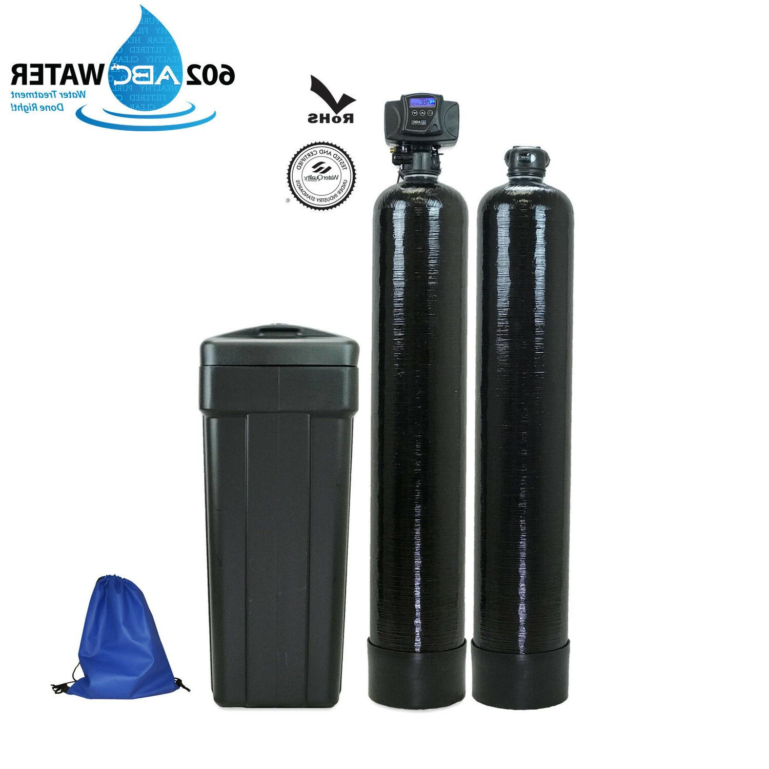 abcwaters built 5600sxt 48 000 water softener