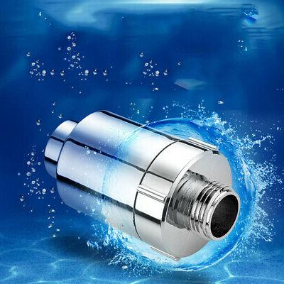 Water Purify Shower Filter Softener Heavy Metal Remove 1Pcs