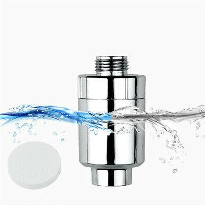 4 Layer Silver Shower Filter Softener Heavy Metal Removing W