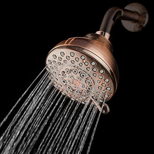 AKDY ABS Finish Multi-Function Massage Wall Shower Head