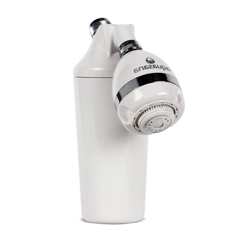 aq 4100 deluxe shower water filter system