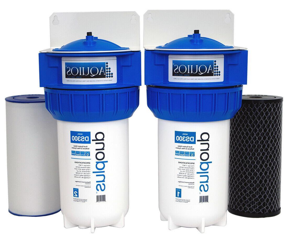 aquios ds300 duo salt free water softener