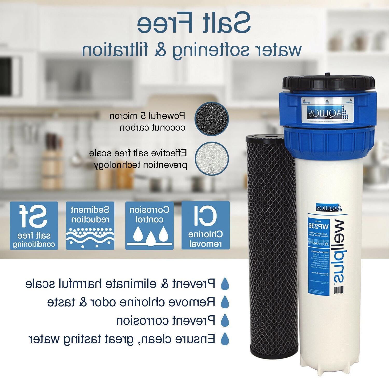 Aquios® WellPlus™ Free Softener & Filter