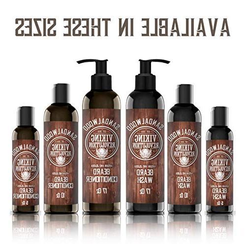 Conditioner Set Jojoba Softens & Strengthens Natural Sandalwood Shampoo