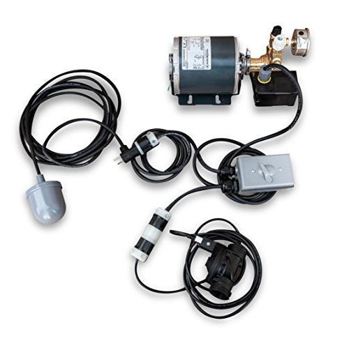 GROWONIX BP-6010 Booster 2000GPD RO for EX600, PSI, High Pressure Marathon Motor