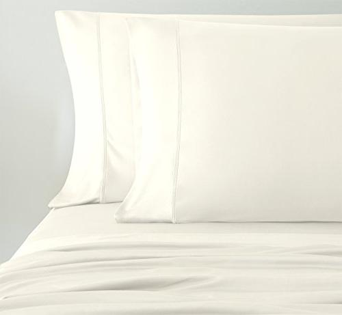 SHEEX - Sheet with Pillowcases, Ultra-Lightweight, Fabric Cool and Ivory