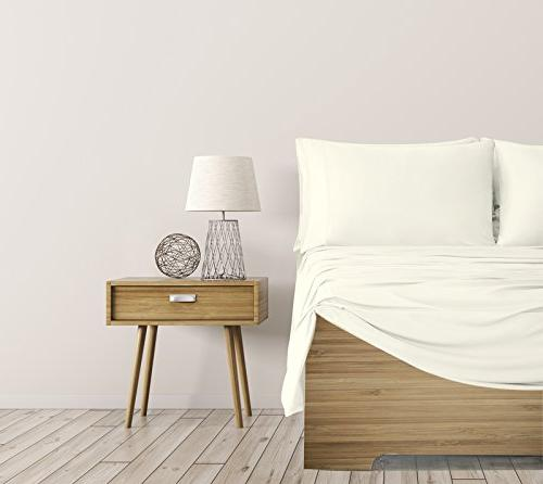 SHEEX Breezy Sheet Pillowcases, Fabric Cool and Comfortable Ivory