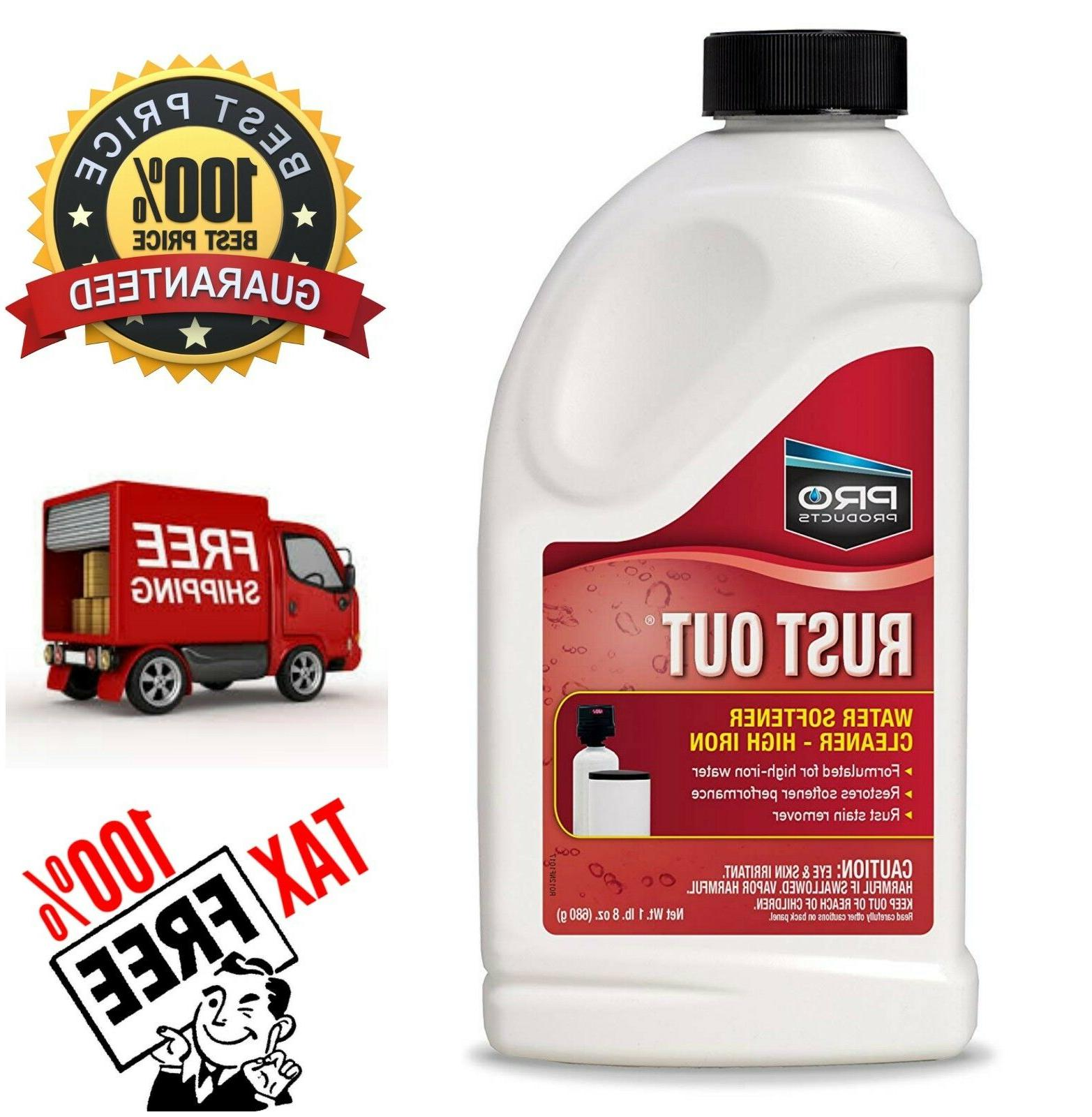 Pro Products Rust Out Water Softener Cleaner & Iron Rust Sta