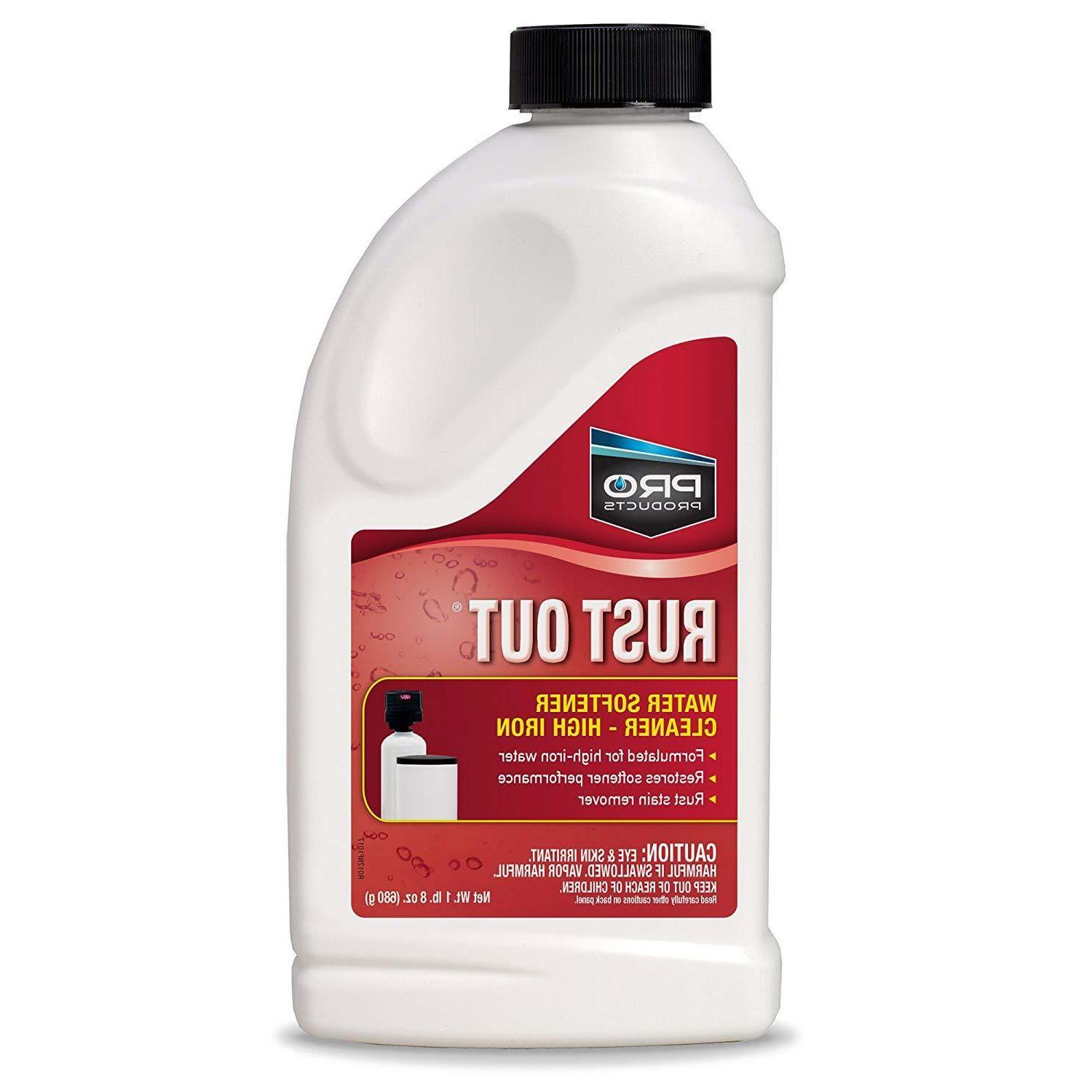 Pro Products Out Water Softener Cleaner Iron Rust Stain 1.5 lb