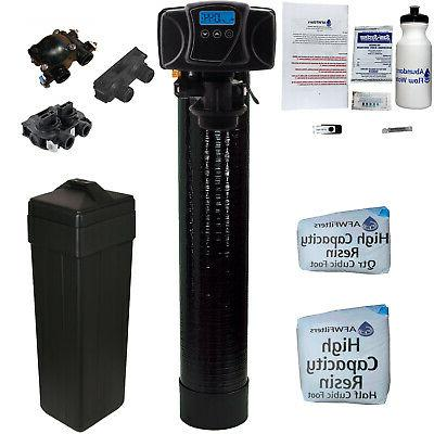 compact space saving water softener fleck 5600sxt