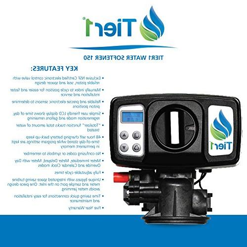 Capacity Water Softener + 4-Stage Drinking Bottles