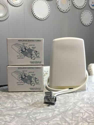 Countertop Drinking Water Filter System Aquasana White  Filt