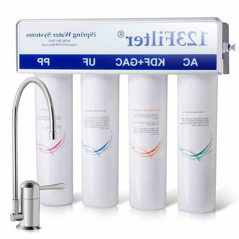 cu a4 water filter white