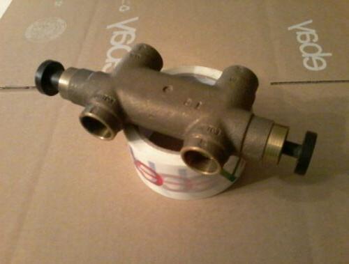 Divertaflo Water Softener Brass Bypass Valve RainSoft Kinetico