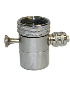diverter valves compression chrome metric
