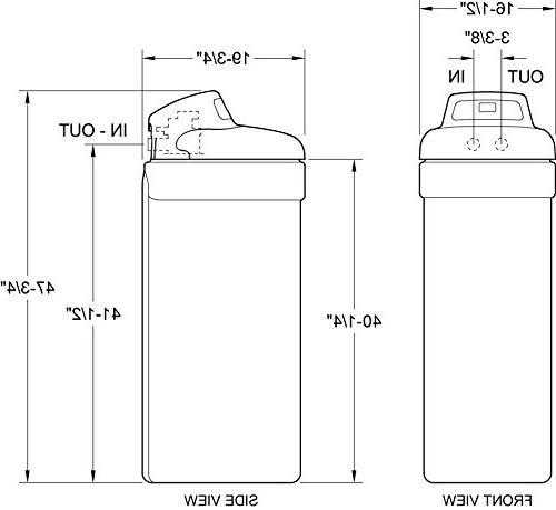 Ecopure EPHS007 Conditioner-Water Softener & Filter in