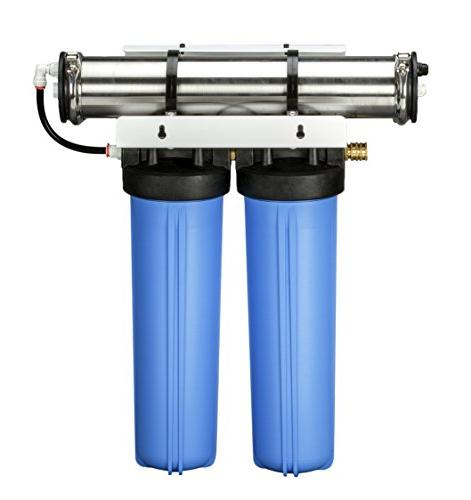 GROWONIX EX1000-TALL Reverse Osmosis System Rate Filter for Drinking Purifier Efficient