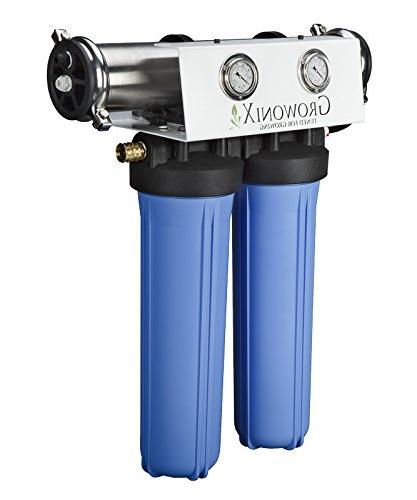 GROWONIX Reverse System High for Drinking H20 Coffee Point of use On Demand Purifier Most Eco