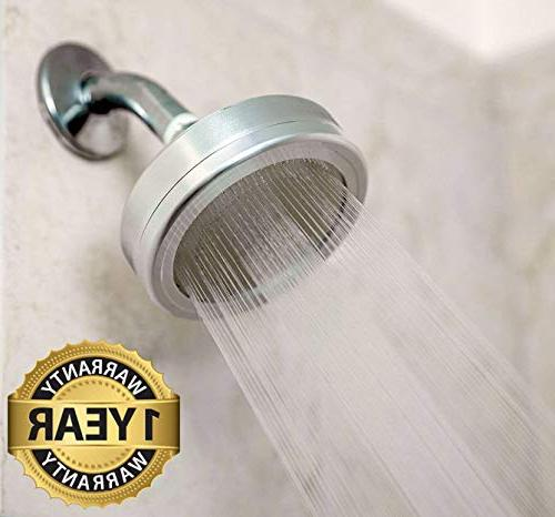 Hard Water Softener Removes 2 Filter - Purifier For Filtered Showers Universal Shower