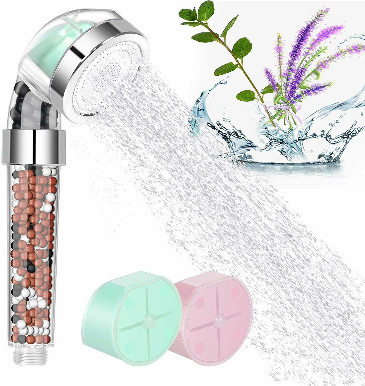 filtered shower water softener chlorine flouride filter