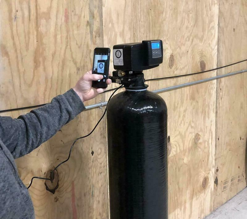 Fleck 64,000 Water Softener Digital SXT Metered Whole House System