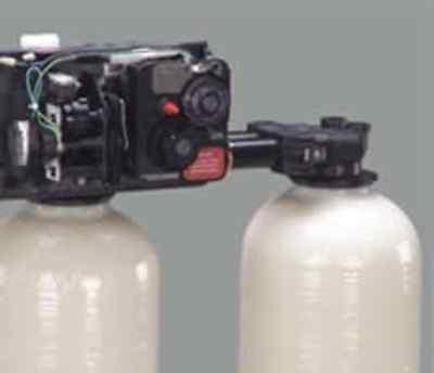 fleck 9100 water softener control valve dual