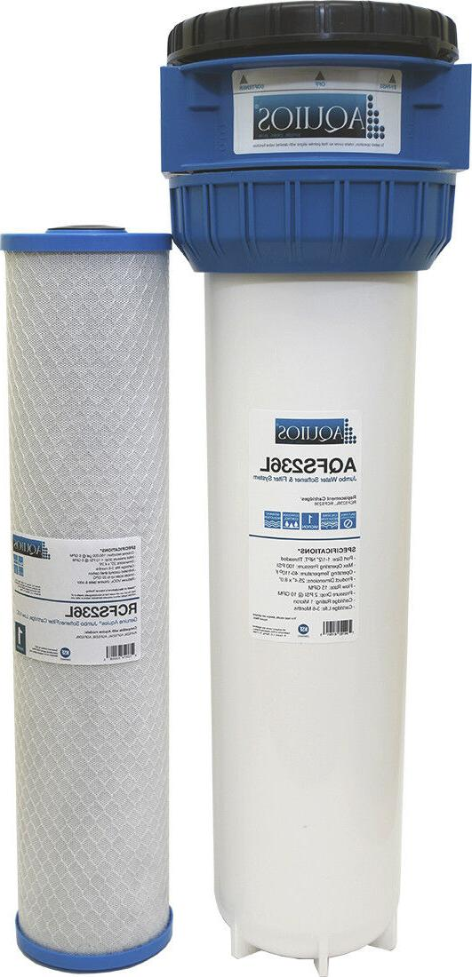 Aquios FS-236 Full House Jumbo Water Filter/Softener