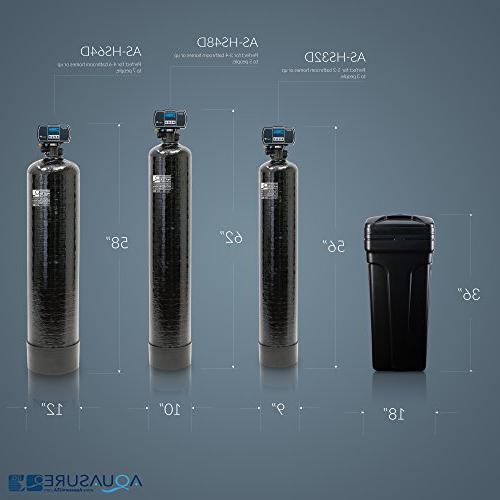 Aquasure 48,000 Grains House Water Softener Metered
