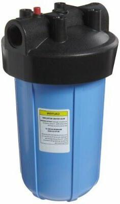 Pentek HFPP-1-PR10 Big Blue Whole House 10 inch Filter Housi