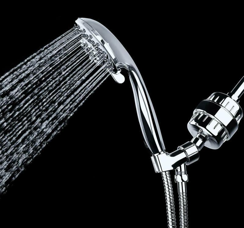Universal Shower Head Hard Softener Filtration System