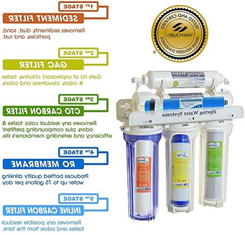 iSpring Prestige Purity Osmosis System Certified - RCC7