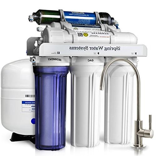 iSpring 75 Reverse System w/ TDS Deionizer Filter Aquariums and