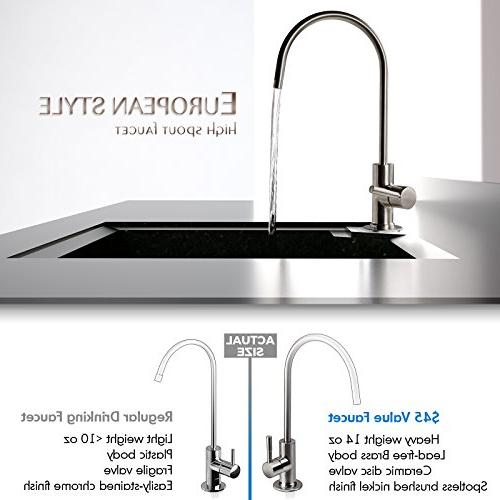 iSpring RCC7P Performance-boosted Sink Osmosis Drinking with and Water Softener